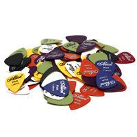 100pcs Guitar Picks Plectrum Assorted Colors Musical Instrument AccessoIJUS