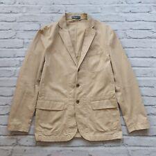Polo Ralph Lauren Blazer Coat Jacket Size 42 R Brown RRL