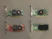 Lot of 4 Graphics cards
