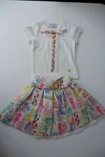 Simonetta Mini Girls Outfit, Set, Size Age. Years, Skirt & Top, Vgc