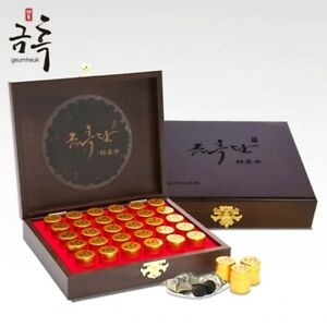 GeumHeuk Korean Black Ginseng Pellet 240g - 30 Round Tablets