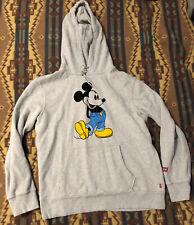 Disney Mickey Mouse Levis Hoodie L Sweatshirt