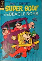 1973 NO.27, OCT. GOLD KEY WALT DISNEY SUPER GOOF AND BEAGLE BOYS COMIC BOOK