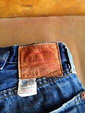 Levis 501XX Selvedge jeans. 36w 34l rockabilly
