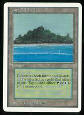 MTG Unlimited Tropical Island MODERATE PLAY MP MAGIC DUAL LAND