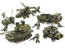 Sluban Bausteine Army Serie Landstreitkräfte