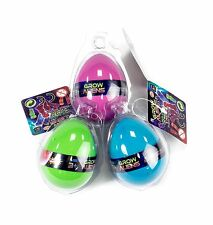 2 x Grow Aliens Egg with Alien Figure Magic Growing in Water Kids Birthday Toy
