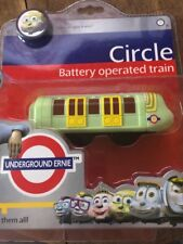 London Underground Ernie Circle Battery Operated Train New Free Postage