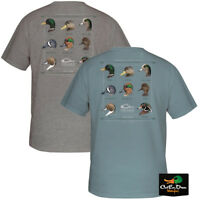 NEW DRAKE WATERFOWL SYSTEMS PUDDLE DUCK COLLECTION LOGO S/S T-SHIRT TEE