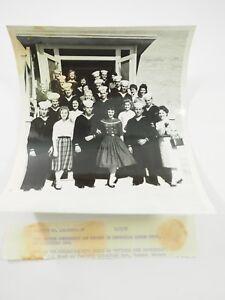 Original Photo Miss Arizona Contestants 1958 at Litchfield Park NAF 8 x 10