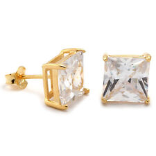 Men's Crystal Stud Earrings