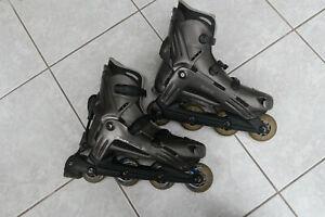 Paire de Rollerblade TX7 Viablade Taille 44,5 (US 11)