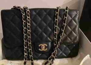 Chanel Jumbo  Bag Caviar Original Black Used
