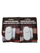 Portable Window and Door Alarms 2 pack