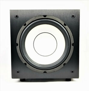 Yamaha SW-P3600 BL Passive Subwoofer Home Theater Bass Speaker Tested -WORKS