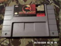 Mortal Kombat (Super Nintendo Entertainment System, 1993) SNES