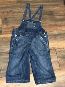 Next denim dungarees Cut Off Jeans size 14