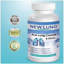 NEW LUNG™ Breathe Better. Top Herbal Antioxidant Lung Cleanse & Detox