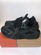 Nike Air Huarache Og Black Leather 2005 VVNDS Uk9.5 Us10.5 Eu44.5