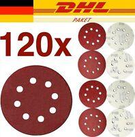 klebemeister® 120 Haft-Schleifscheiben Ø 125 mm K40-180 Klett 8-Loch Exzenter