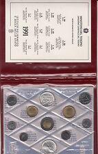 SET ITALIA DIVISIONALE 1991 ZECCA 11 PEZZI FDC CON L 500 ARGENTO ANTONIO VIVALDI