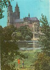 Alte Ansichtskarte Postkarte Magdeburg Dom 1979 farbig