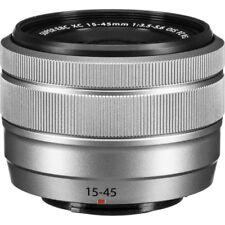 New FUJIFILM XC 15-45mm f/3.5-5.6 OIS PZ Lens - SILVER