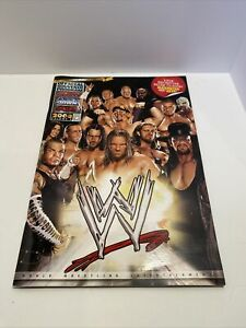 WWE Official Souvenir Program ( Vol. 2 ) Book 2008 ECW Raw SmackDown WCW WWF