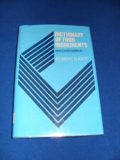 DICTIONARY OF FOOD INGREDIENTS BY ROBERT S. IGOE 1989  2nd edition