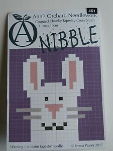 Ann's Orchard counted chunky tapestry cross stitch kit - NIBBLE MOUSE