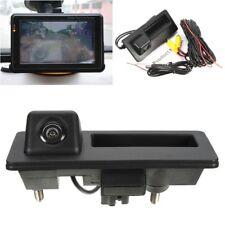 Backup Rear View Camera For VW GOLF JETTA TIGUAN RCD510 RNS315 RNS310 RNS510 FF