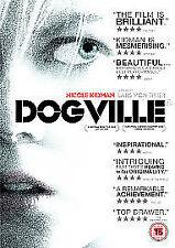 Dogville DVD (2004) Nicole Kidman, von Trier