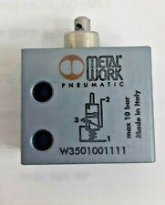 Stempel Ventil 3/2 METALWORK 5mm Ports, W3501001111