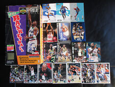 LOT 282 CARTES UPPER DECK COLLECTOR CHOICE VO 1994-98 DONT 61 INSERTS SIGNE