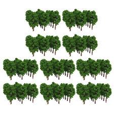 200x 8cm 1:150 N Scale Plastic Model Trees Railroad Landscape Scenery Layout