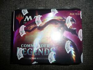 Commander Legends Sealed Collectors Edition Booster Box Magic MTG English Foil