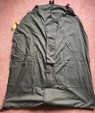British Army Olive Green Modular Light Weight Sleeping Bag Liner. New.Medium.