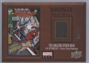 AMAZING SPIDER MAN 2020 UD Marvel Ages BRONZE METAL RELICS 14/65 Upper Deck