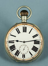Huge 103mm Diameter Goliath 8-Day Pocket Watch - Omega movement