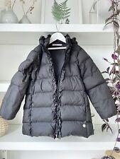 MISS BLUMARINE designer black down puffer coat, hooded! 5 Years