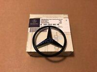 Mercedes SL R231 2012-2016 Rear Boot Badge Emblem Star - Gloss Black A2318170216