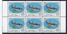 Latvia Expo Fish MNH booklet stamps  2002