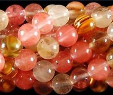 "Natural 10mm Watermelon Tourmaline Gems Round loose Beads 15"" AAA"