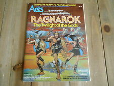 Revista ARES #8 May 1981 - Wargame RAGNAROK - New & Unpunched