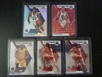 2019-20 Panini Mosaic Hall Of Fame 5 Card Lot Red Prizm Scottie Pippen
