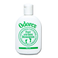 Odorex Foot and Shoe Deodoriser 60g Antibacterial Antifungal Treatment Footwear