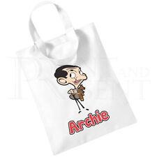 Niños y Mr Bean Personalizado dibujos animados Algodón Mini Bolso-Mochila