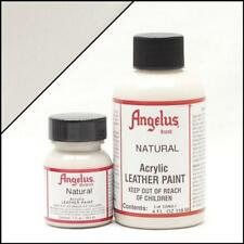 Angelus Acrylic Leather Paint Natural 4oz Colour Shoes/Sneakers Water Resistant