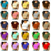 PAPAVAL KCCT New Kids Girls Cap Sleeve Summer Crop Top T-shirt VISCOSE Outfits