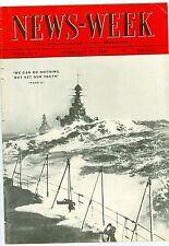NEWSWEEK WAR BULLFIGHTING JAPAN FDR UNION RUMANIA   FEBRUARY   27  1937